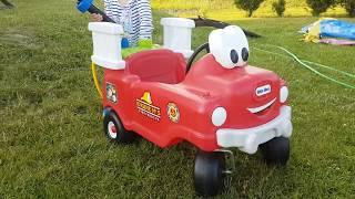 Funny Car for children Fire Rescue / Fajna straż pożarna dla dzieci