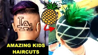 Amazing Kids Boys Haircut - Ep #2 ★ Best Barbers Compilation 2017