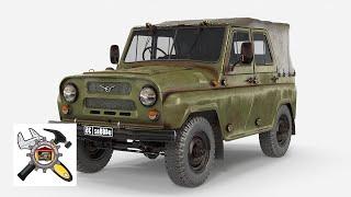 Ремонт ступицы автомобиля УАЗ-469 своими руками