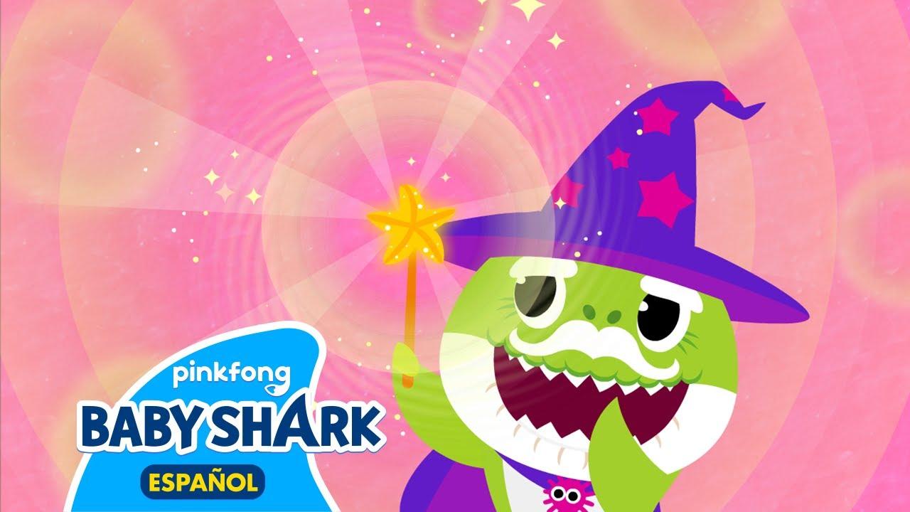 Tiburón Mago Abuelo 🧙♂️| Canta con Tiburón Bebé | Canciones Infantiles | Baby Shark en Español