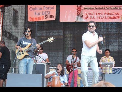 Rahim Shah Performs Live at Pakistan Parade New York 2014