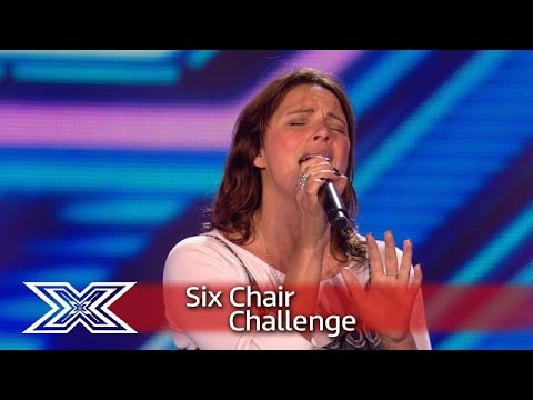 Can Rebekah Ryan put her emotions aside to bag a Chair?  Six Chair Challenge  The X Factor UK 2016