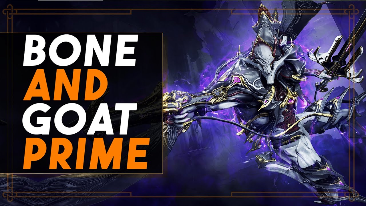 Warframe: Bone Daddy & Goat Prime - The Reanimated Primes thumbnail