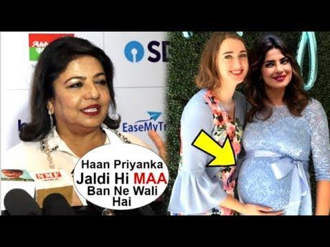 Priyanka Chopra's Mom Madhu Chopra CONFIRMS Priyanka Is PREGNANT With Nick Jonas' FIRST Child