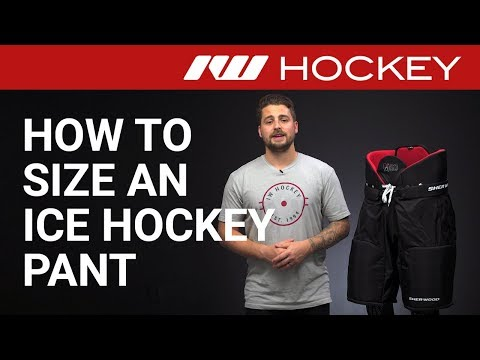 How To Size An Ice Hockey Pant