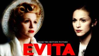 Repeat youtube video Evita Soundtrack - 11. Don't Cry For Me Argentina