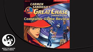 Carmen Sandiego's Great Chase Through Time - Computer Game Review