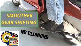 Lesson/Advanced - Smoother gear Changing, gear shifting on your motorcycle.