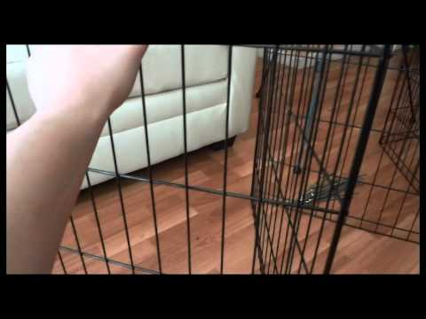 Midwest Black E-Coat exercise pen - Video Review (HD)