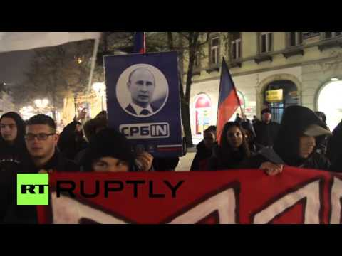 Serbia: Anti-government nationalists rally in Vojvodina