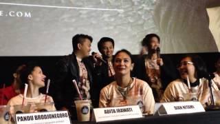 ANTARANEWS Coboy Junior CJR bawakan lagu Mata Air OST film Rudy Habibie