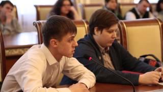 Встреча актива управления молодежнои политики с представителями ссузов Новосибирскои области