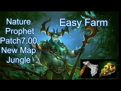 Dota 2 Nature Prophet Jungle700 Patch New Map  YouTube