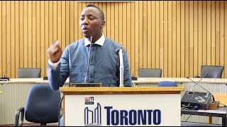 OMOYELE SOWORE'S TORONTO TOWN HALL MEETING - FULL COVERAGE