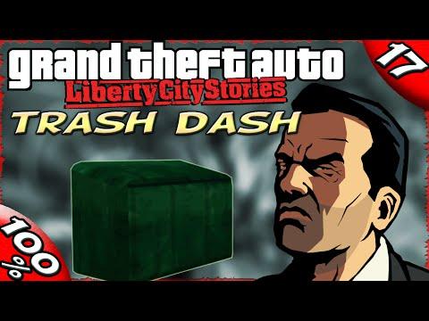 GTA LCS [:17:] ALL Trash Dash Missions [100% Walkthrough]