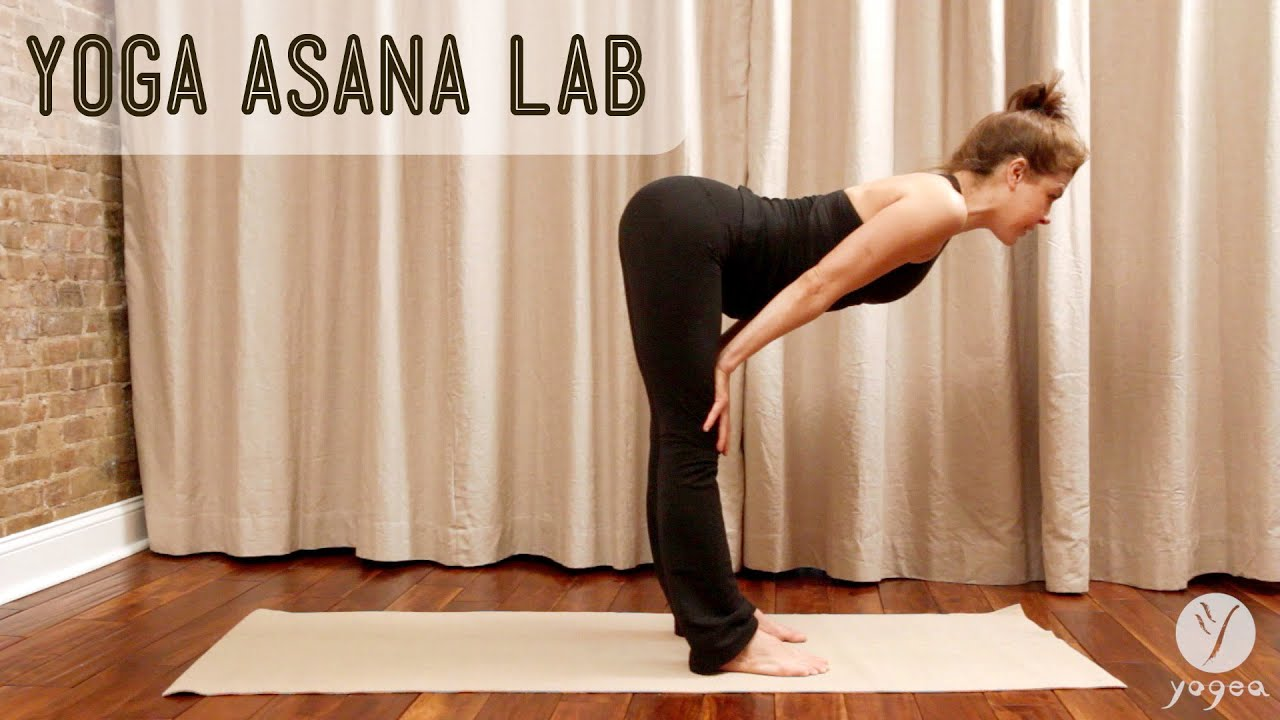 Asana Lab: Standing Forward Bends & Chair Poses - YouTube