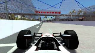rFactor 2 - 2012 Dallara DW12 @ Long Beach Street Circuit