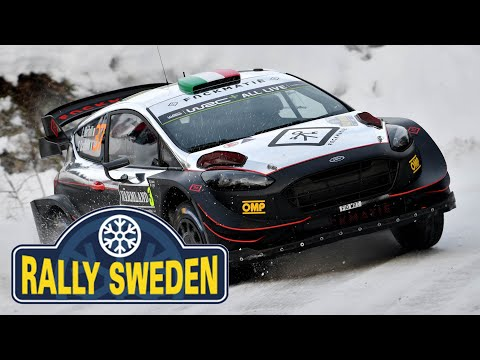 Rally Sweden  - L. Bertelli / S. Scattolin - Ford Fiesta WRC+