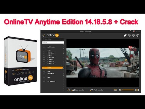 OnlineTV Anytime Edition 14.18.5.8 + Crack । How To Online Tv Anytime Edition PC