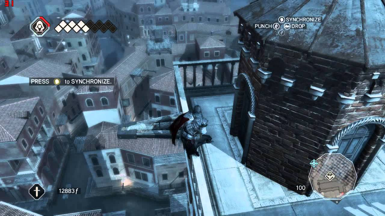 Assassin's Creed II Gameplay On Nvidia GeForce 820M p2 ( high setting )