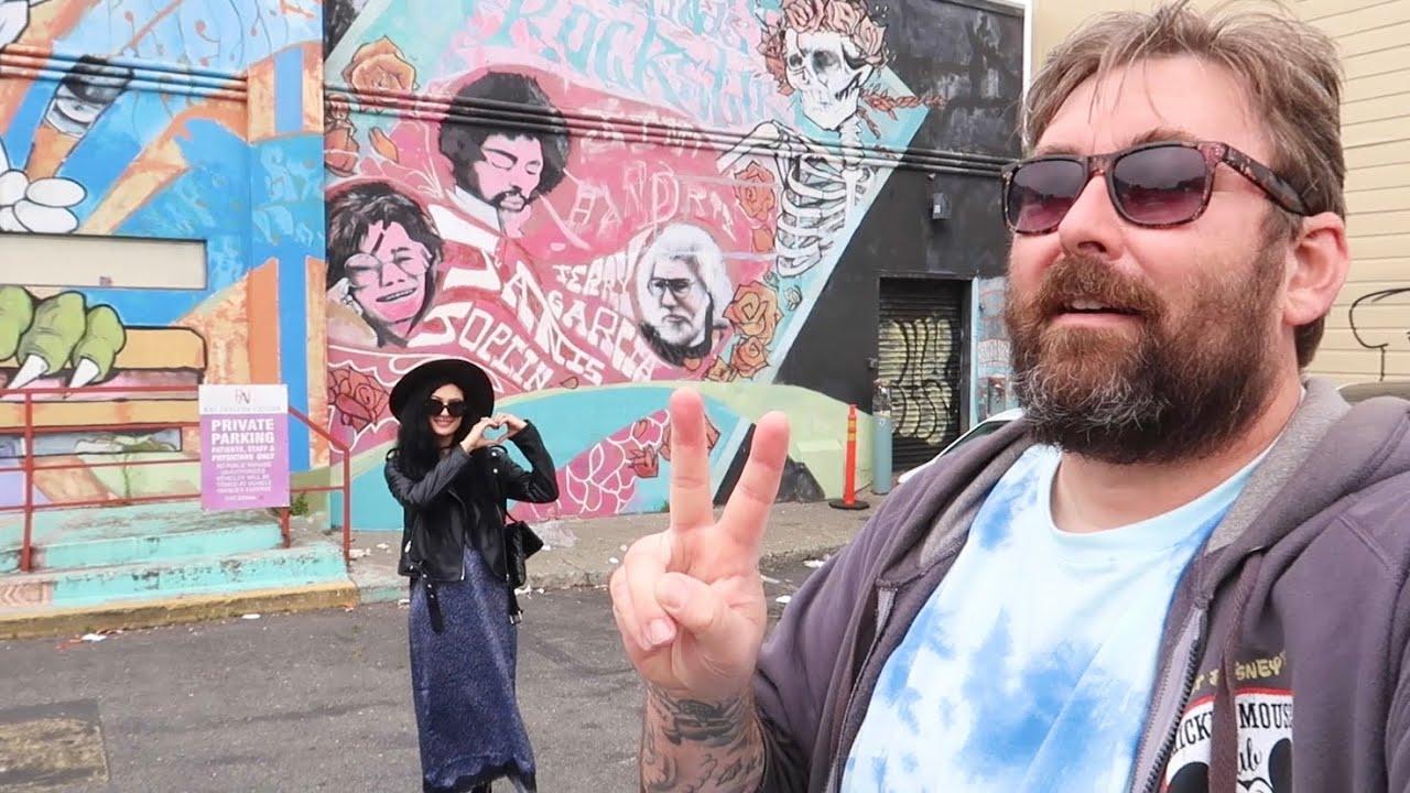 Haight Ashbury District of SF - Grateful Dead House / Janis Joplin & Hendrix Locations / Hippie Hill