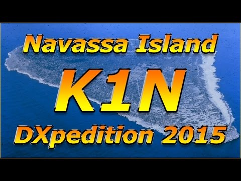 K1N - Navassa Isl. in EI on 10m -  6.02.2015