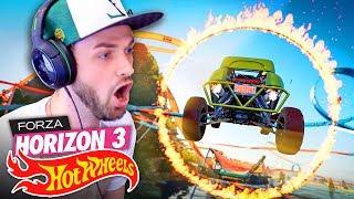 MOST DANGEROUS JUMP EVER...! 🚗💨 - Forza Horizon 3 (HOT WHEELS DLC)