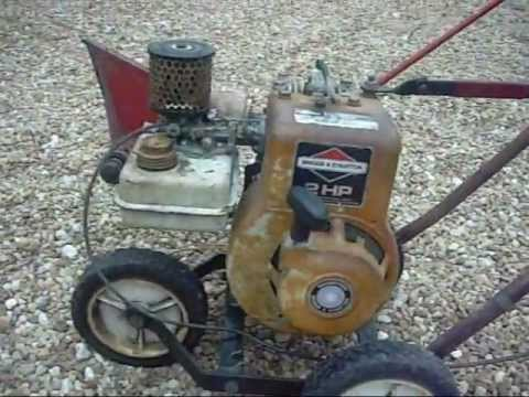 hqdefault briggs and stratton 2hp edger youtube  at mifinder.co