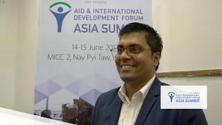 Aid & Development Asia Summit 2017 - Interview with Md Sazaduzzaman, BRAC