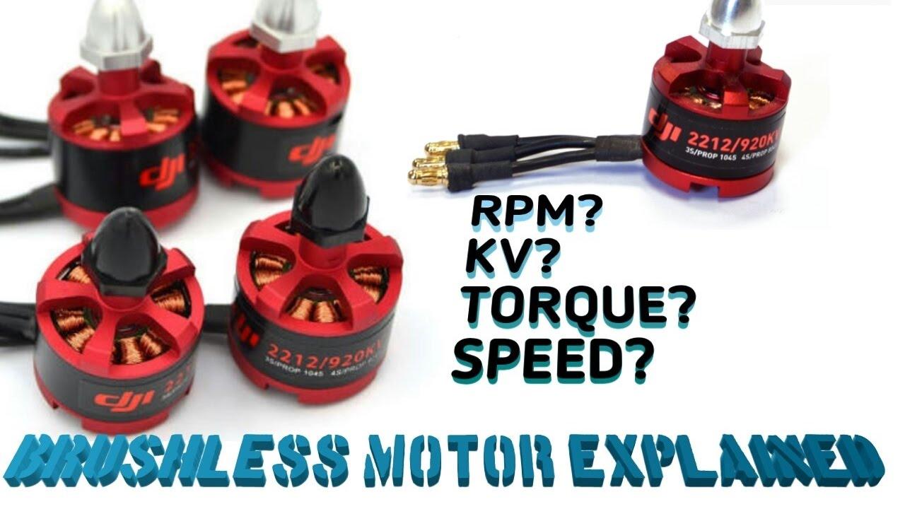 Brushless motor explained,KV,RPM,TORQUE,SPEED etc    beginners watch the  full video