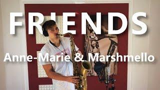 Friends Marshmello Anne-Marie Saxophone Cover.mp3