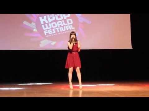 Davichi - 이 사랑 THIS LOVE by Sinem Kadıoğlu K-POP World Festival  Turkey