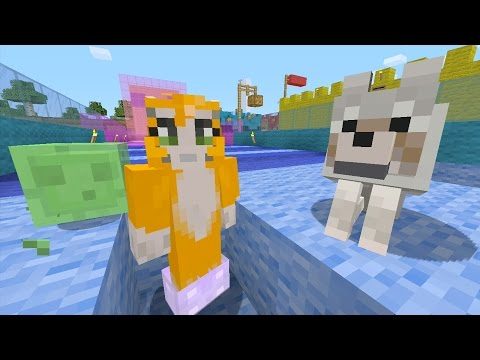 Minecraft Xbox - Pink And Blue [378]