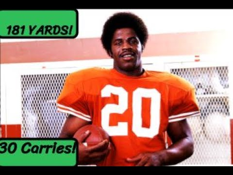 Earl Campbell Full Game Highlights 11.19.77--181 yards, 30 carries, 1 TD, HEISMAN!--Texas vs. Baylor