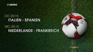 Fußball bei RTL NITRO: Die Topspiele der European Qualifiers