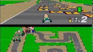 Super Mario Kart custom tracks-Mushroom cup