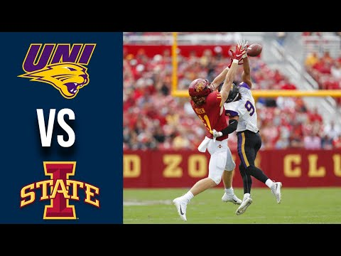 Northern Iowa Vs #21 Iowa State Highlights Week 1 College Football 2019