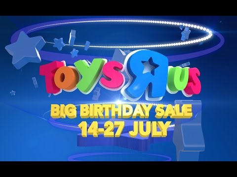 Toys R Us Birthday