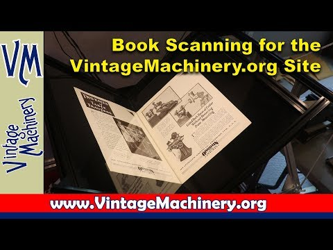 Scanning Publication Reprints For The VintageMachinery.org Website