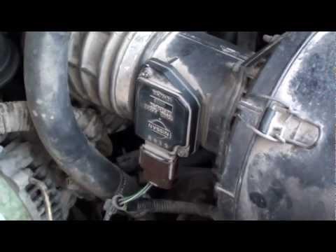 Nissan Terrano - High emissions problem. MAF sensor?