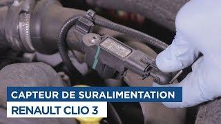 Changer le Capteur de pression de turbo - Renault Clio