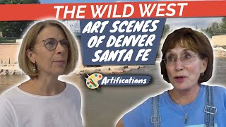 The Wild West Art Scenes of Denver - Santa Fe