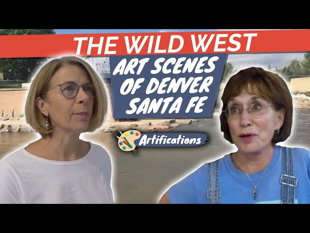 The Wild West Art Scenes of Denver: Art District of Santa Fe