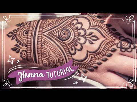 Easy Henna Design For Beginner Hand Henna Youtube