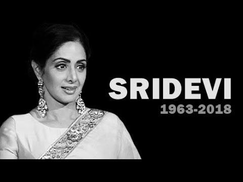 Actor Sridevi Dies At Age 54 In Dubai