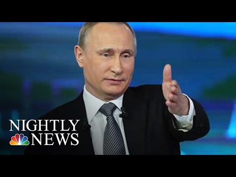 Exclusive: Putin Targeting Microsoft To 'Nationalize' Internet | NBC Nightly News