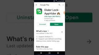 dialer lock app hider screenshot 3