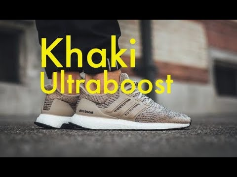 eea4220d9 Trace Khaki Ultra Boost 3.0 Adidas Unboxing On Feet Full Review NMD Yeezy