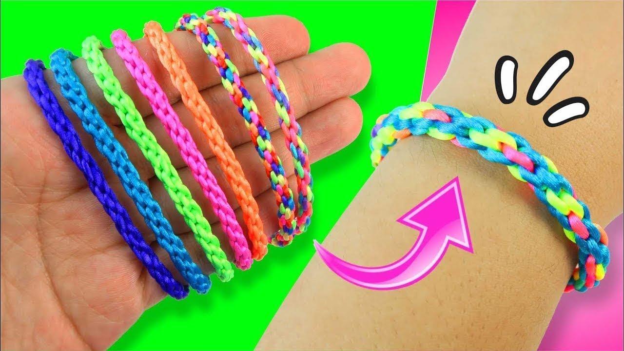 1d73f5762ef5 Pulsera tejido para principiantes | KUMIHIMO - Capítulo 2 ★ DIY Tejido  facil y sencillo ★