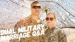 Dual Military Marriage Q&A
